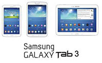 Galaxy tab 3 Family