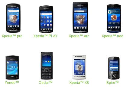 Sony Ericsson Family